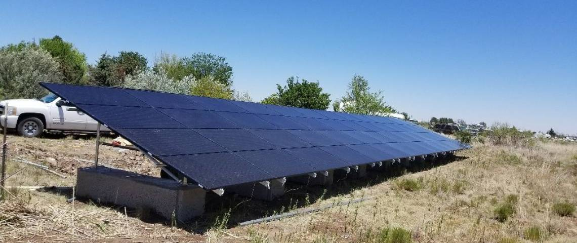 Ground Mount Solar Panel Installation in Hobbs, NM (15.11 kW) - 2