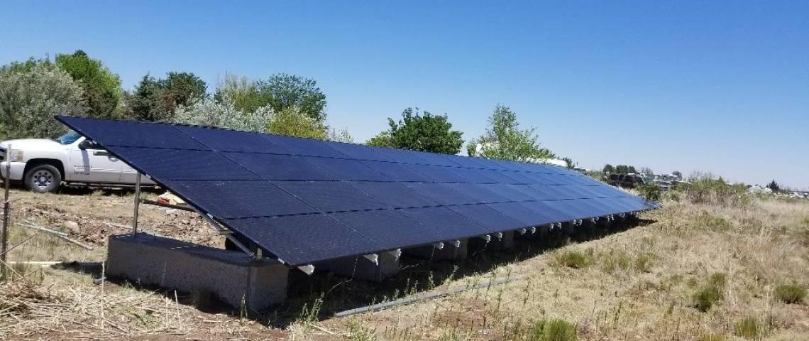 Ground Mount Solar Panel Installation in Hobbs, NM (15.11 kW) - 2