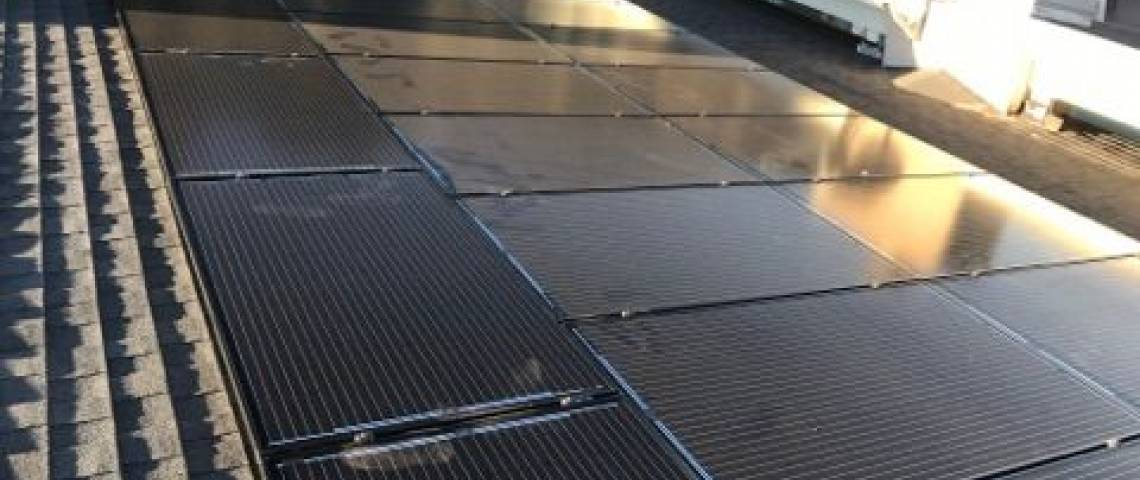 Solar Power System in Studio City, CA - Roof Mount