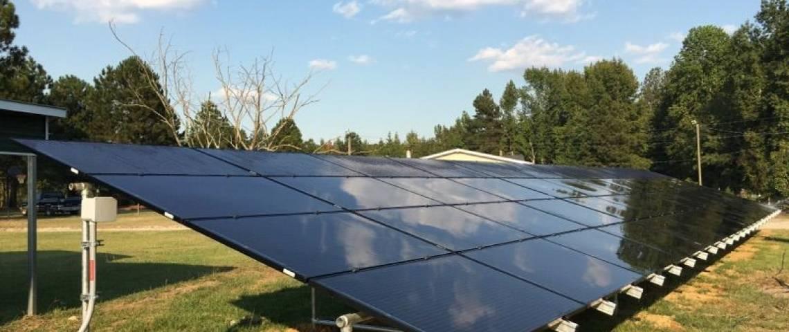 Ground Mount Solar Panel Installation in Clio, SC - 3