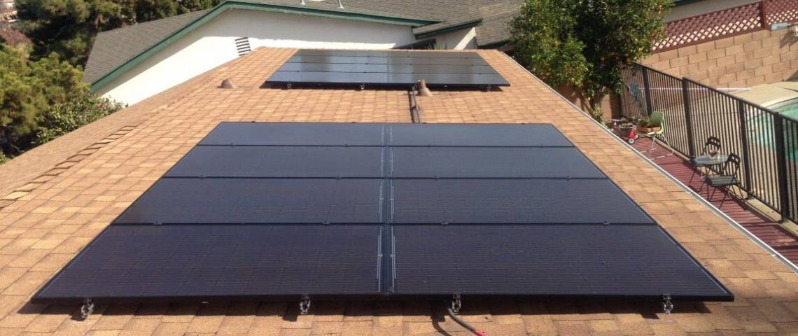 Solar Energy System in North Hills, CA - Installation