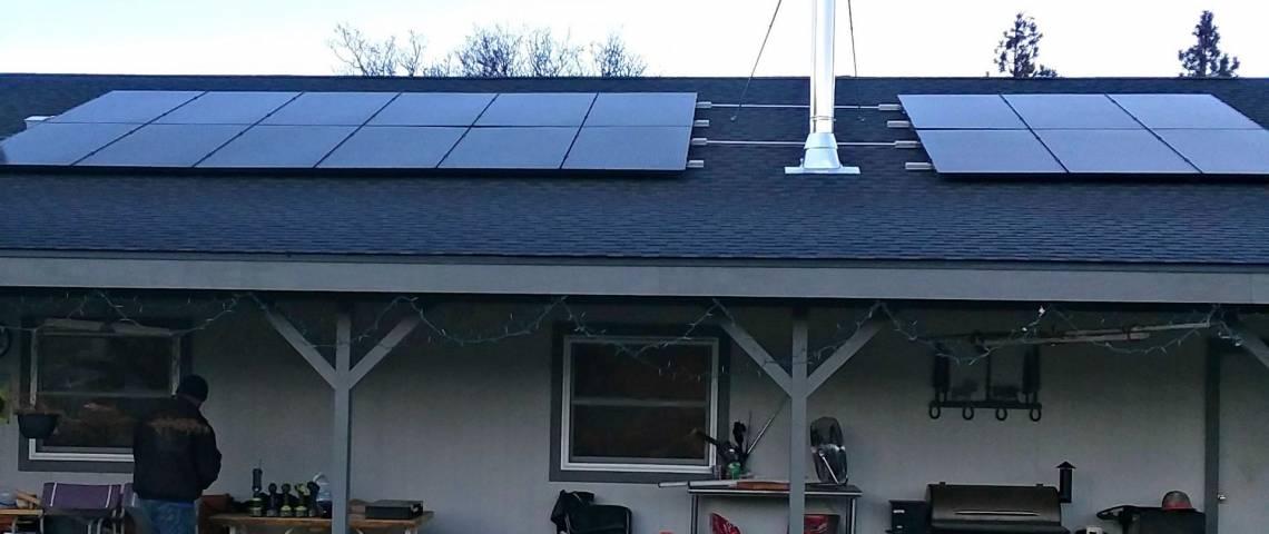 Residential Solar Panel Installation in Etna CA