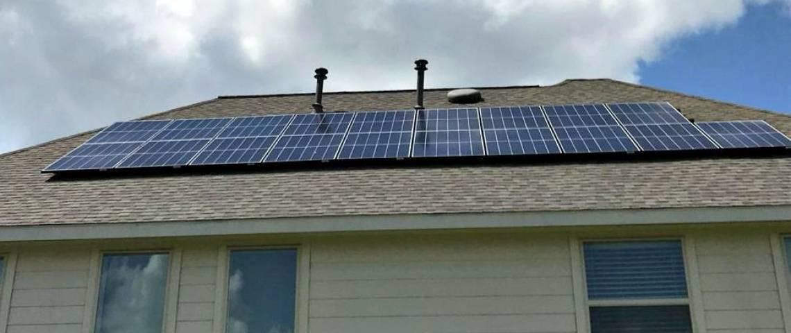 Residential Solar Panel Installation in Richmond TX