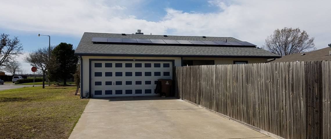 Residential Solar Panel Installation in San Angelo TX