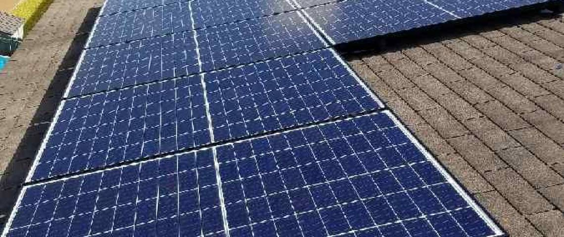Asphalt Shingle Solar Panel Installation in McAllen, TX  - 2