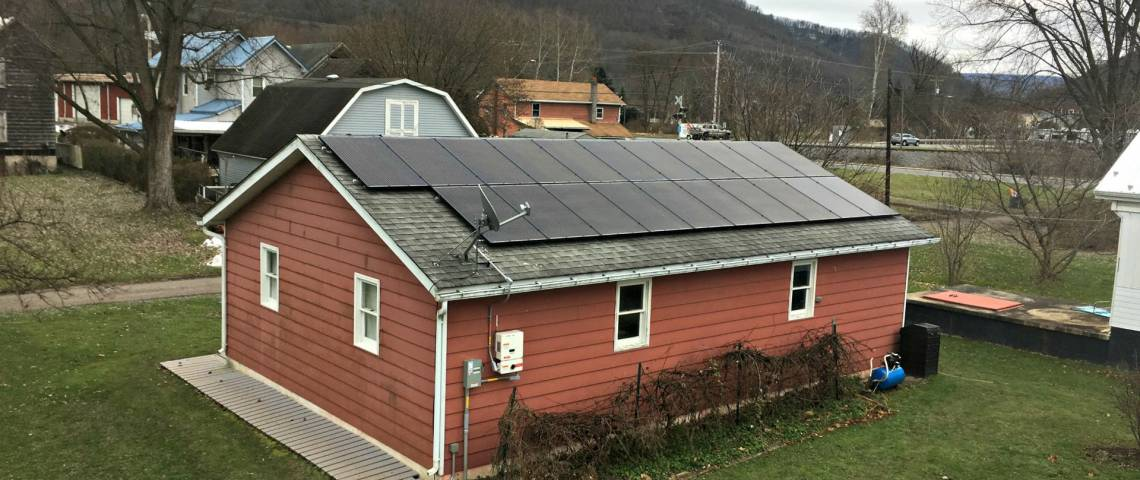 Roof Mount Photovoltaic System in Mill Hall PA