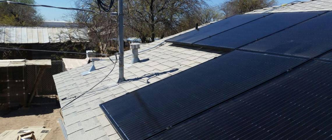 Roof Mount Solar Install in Calipatria CA