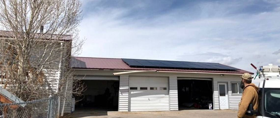 Residential Solar Panel Installation In Big Piney Wy
