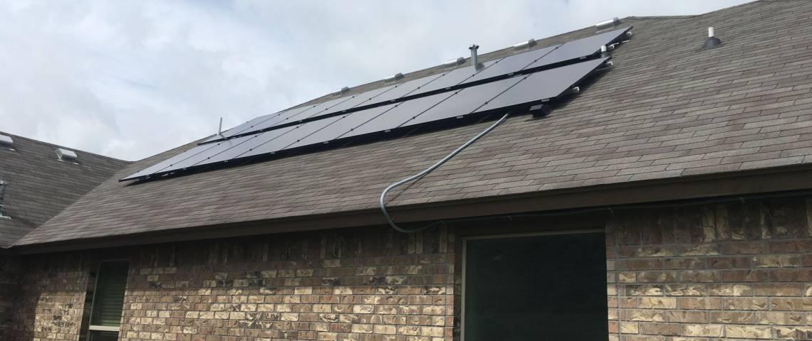 Roof Mount Solar Installation in Corpus Christi TX