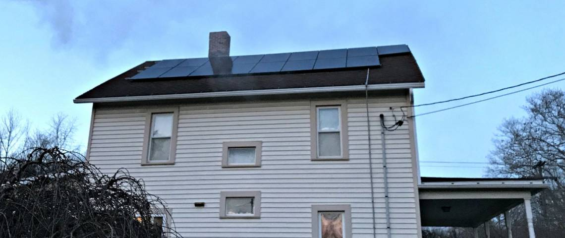 Roof Mount Solar Installation in Lucinda PA