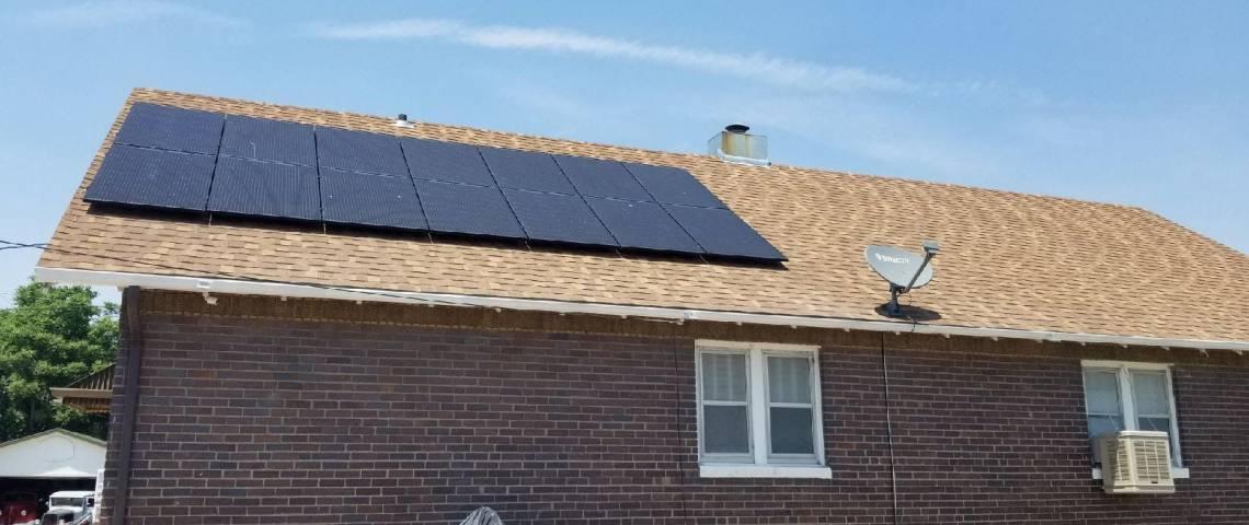 Roof Mount Solar Installation in Pueblo CO