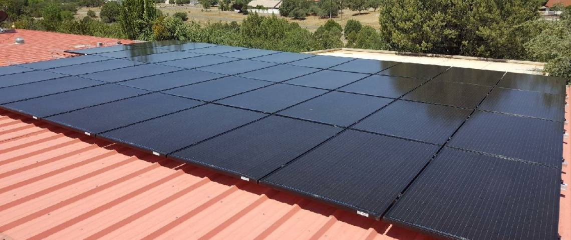 Roof Mount Solar Installation in Silver City NM