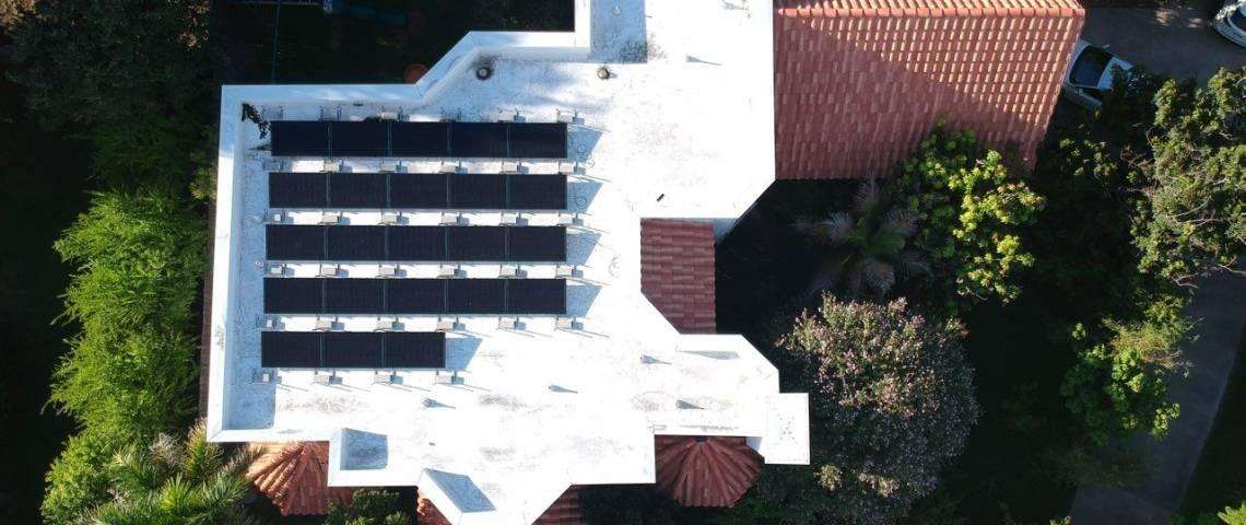 Roof Mount Solar Installation in Weslaco TX