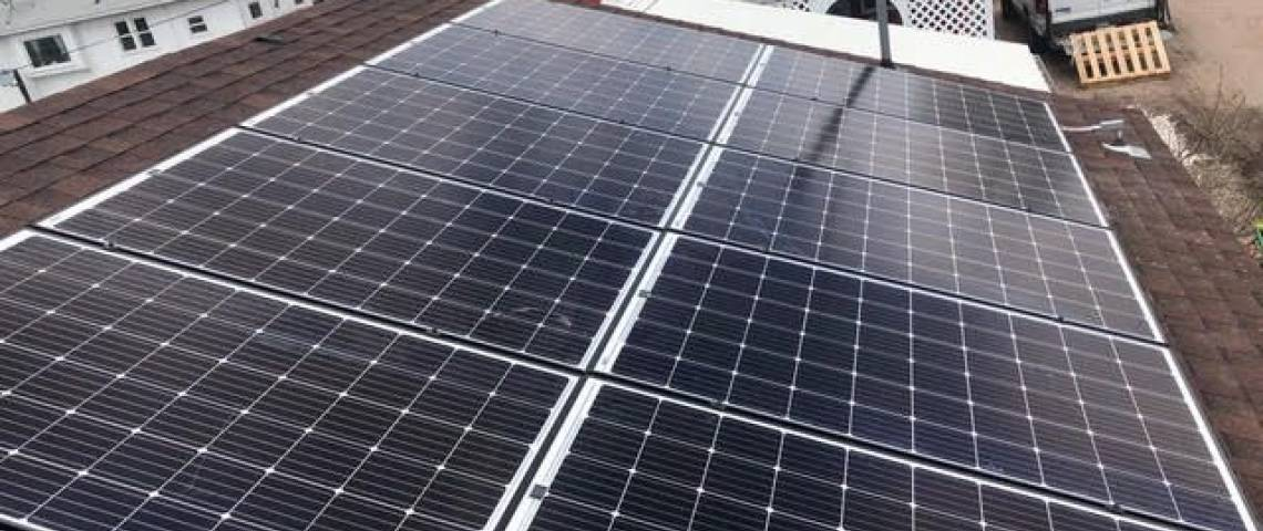 Roof Mounted Solar Install in Akron CO