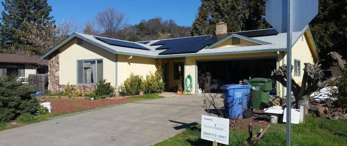 Roof Solar Install in Lucerne CA