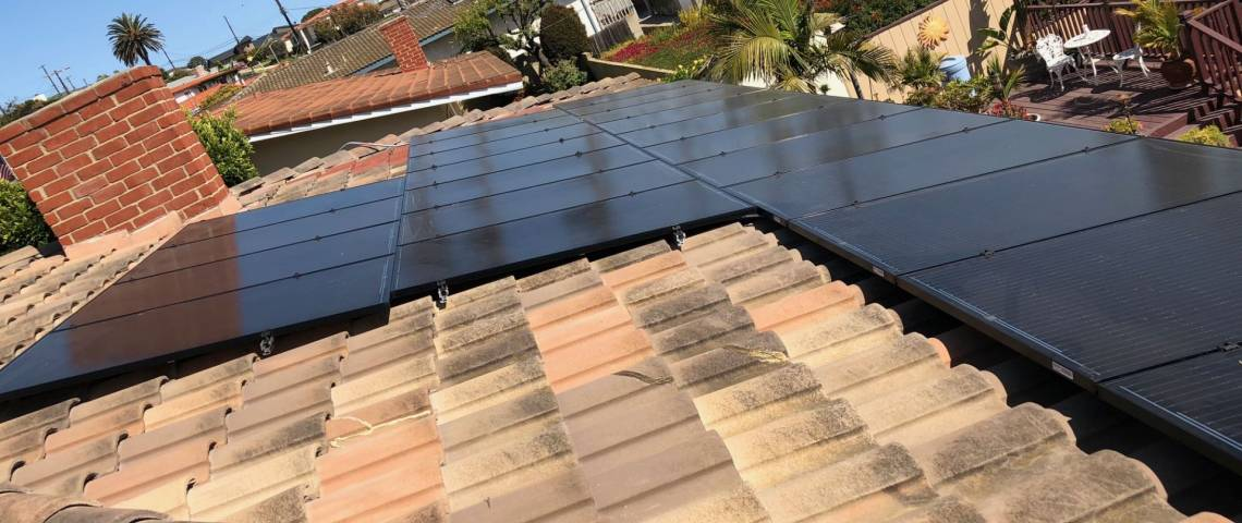 Rooftop Solar Energy System in San Pedro CA