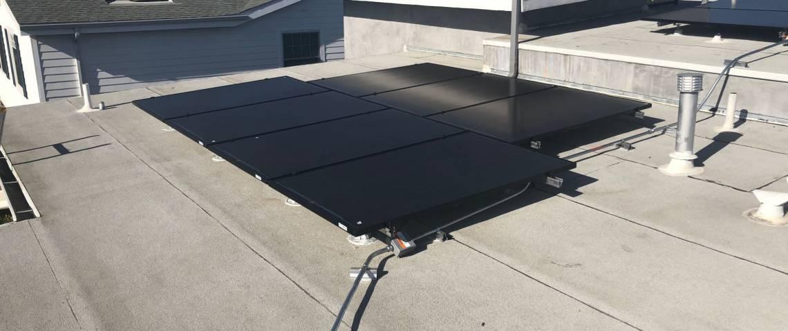 Rooftop Solar Installation in Los Angeles CA