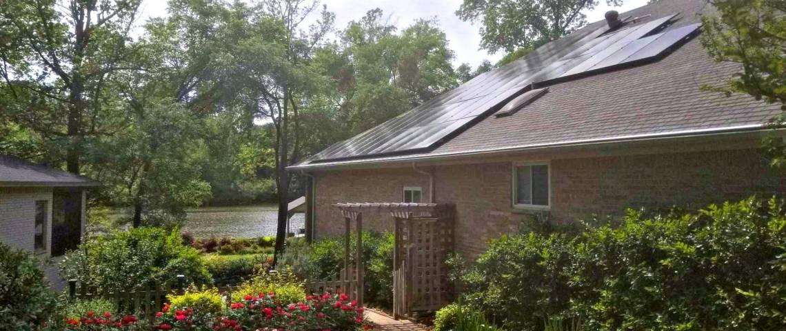 Rooftop Solar Power System in Hideway TX