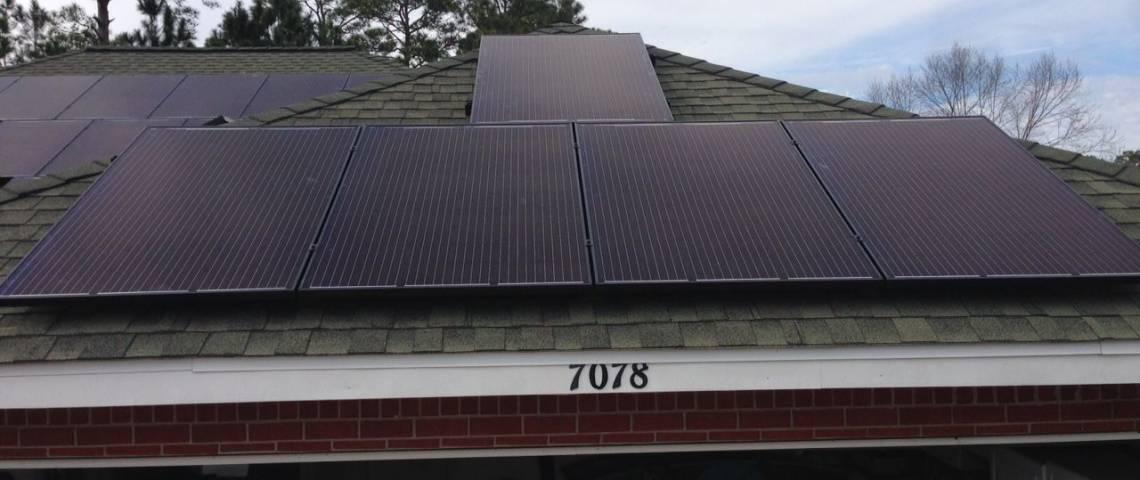 Asphalt Shingle Roof Mount Solar Panel Installation in Macon, GA - 4