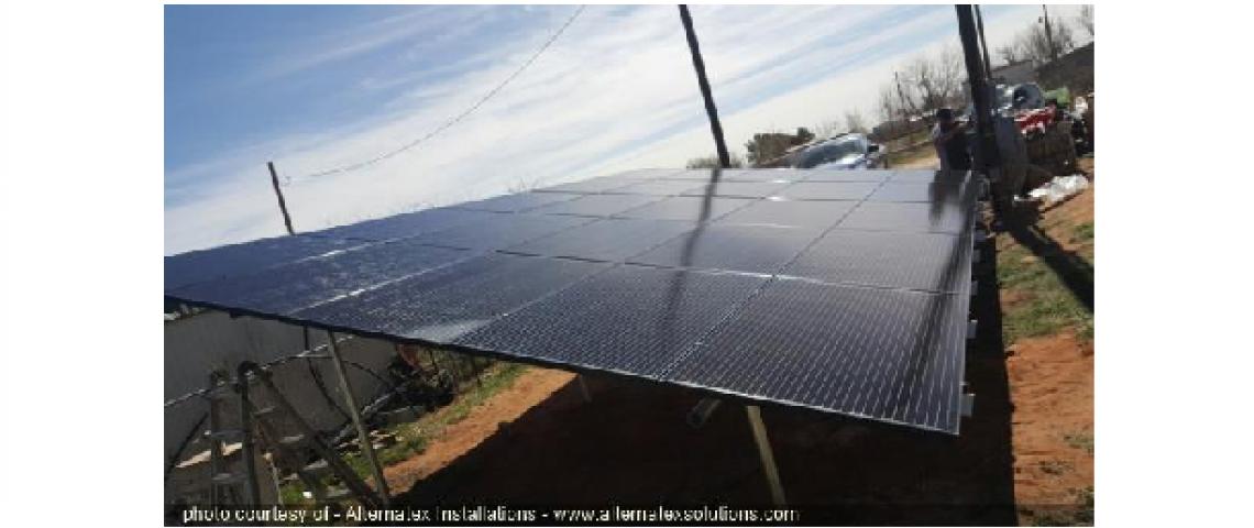 Solar Panel Installation in Andrews, TX - 1