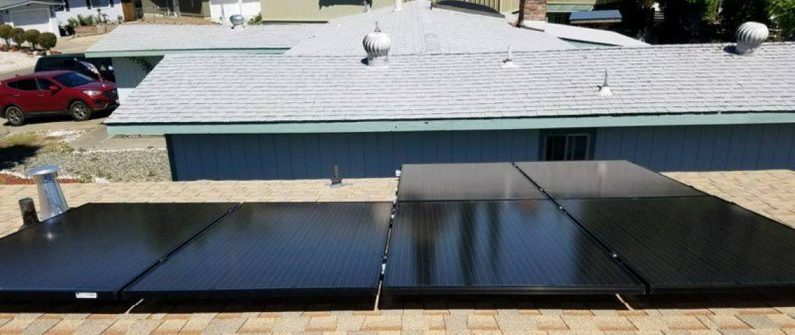 Solar Electric System in Clearlake Oaks CA