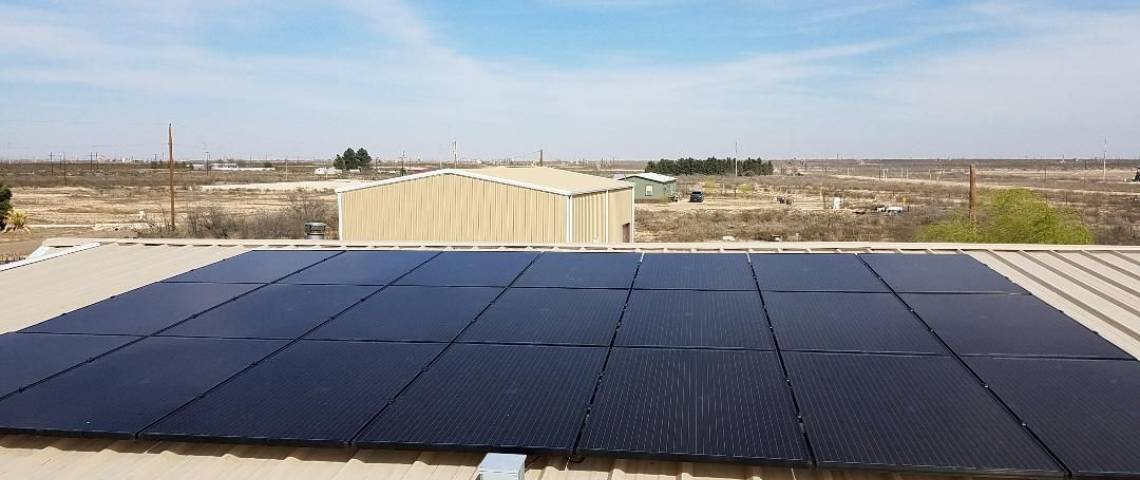 Solar Electric System in Odessa TX