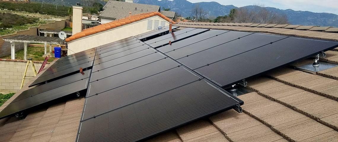 Solar Electric System in Rialto CA