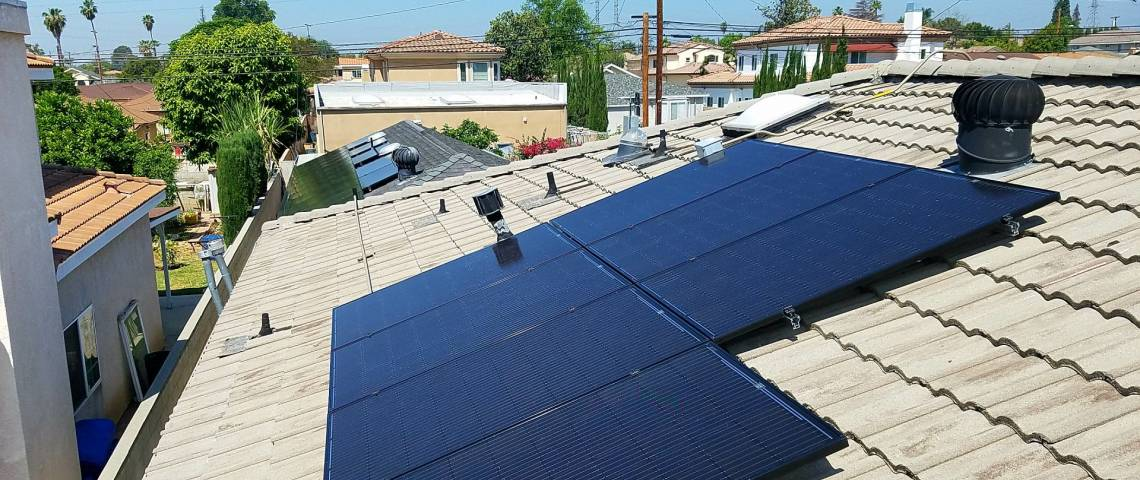 Solar Electric System in Temple City CA