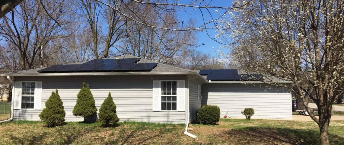 Solar Energy Home Cassville MO