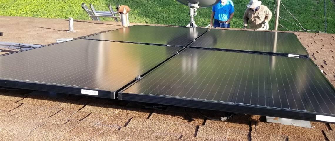 Solar Energy System Install in Premont TX