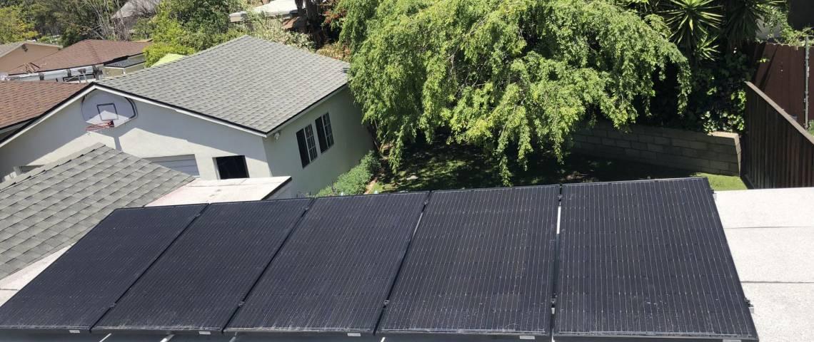 Solar Energy System in La Crescenta CA