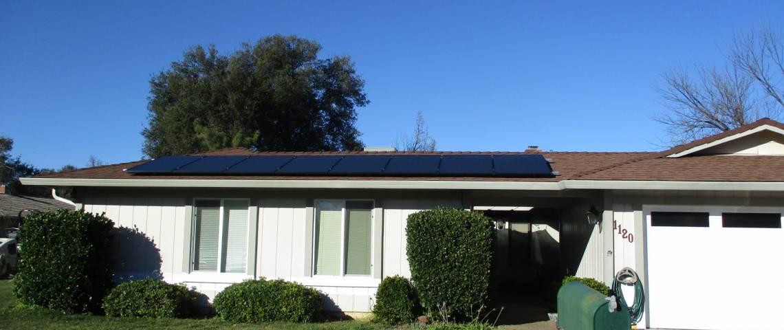 Solar Energy System in Redding CA