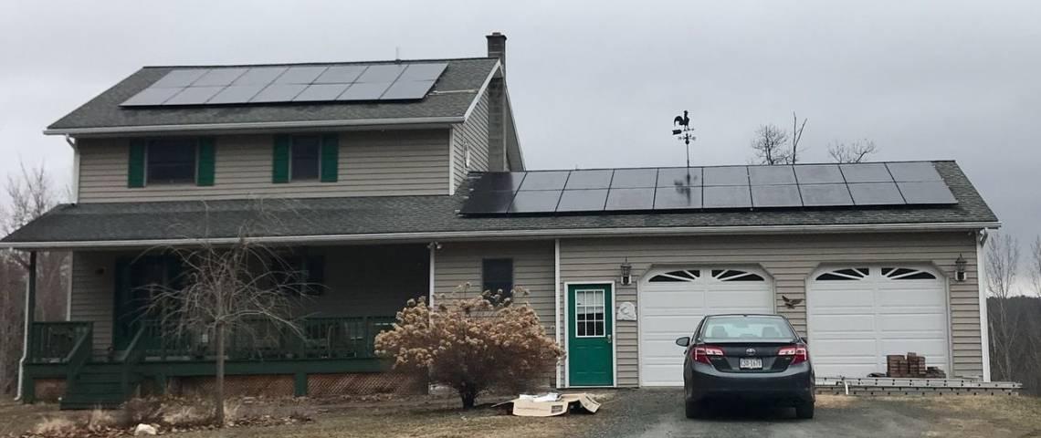 Solar Install in Tunkhannock PA