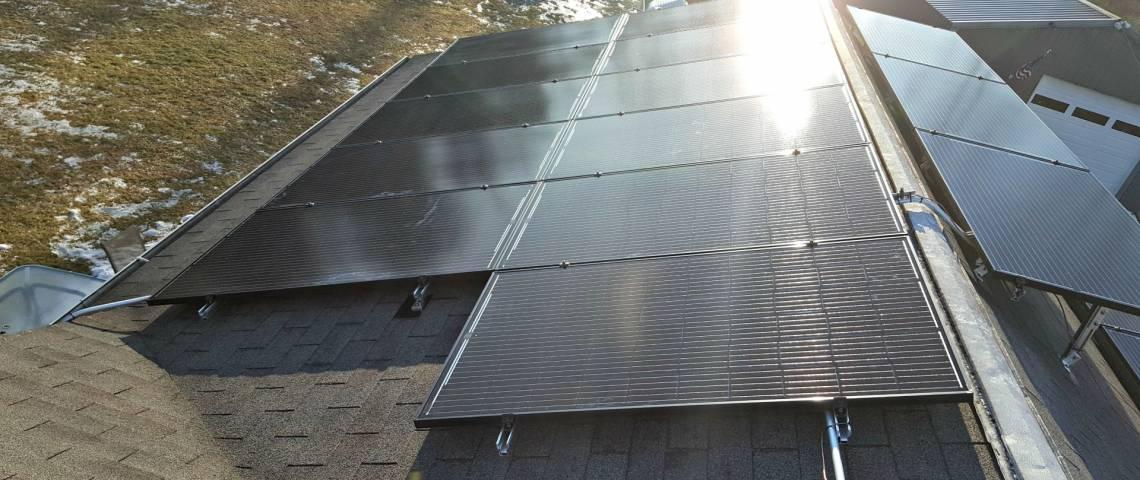 Solar Panel Installatin in East Stroudsburg PA