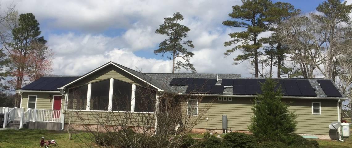 Solar Panel Installation in Maysville NC