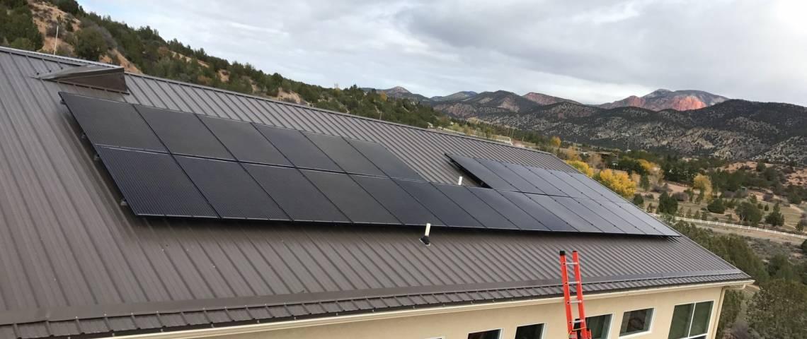 Solar Panel Installation in New Harmony UT