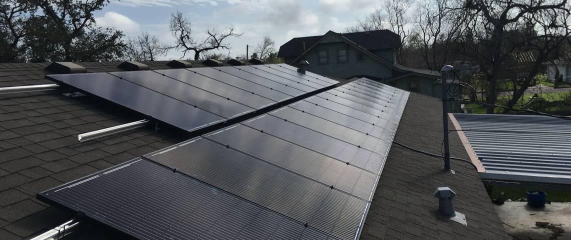 Solar Power System Installation in Taft TX