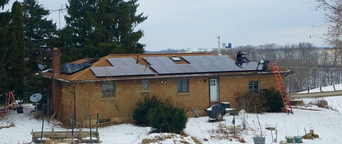 Solar Power System in Butler PA