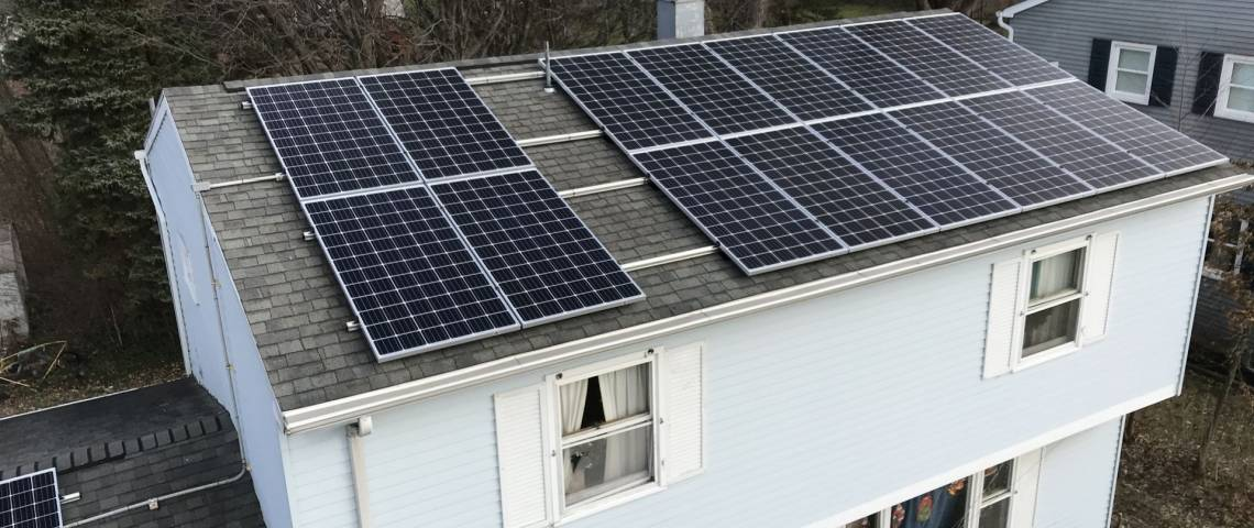 Solar Power System in Erie PA