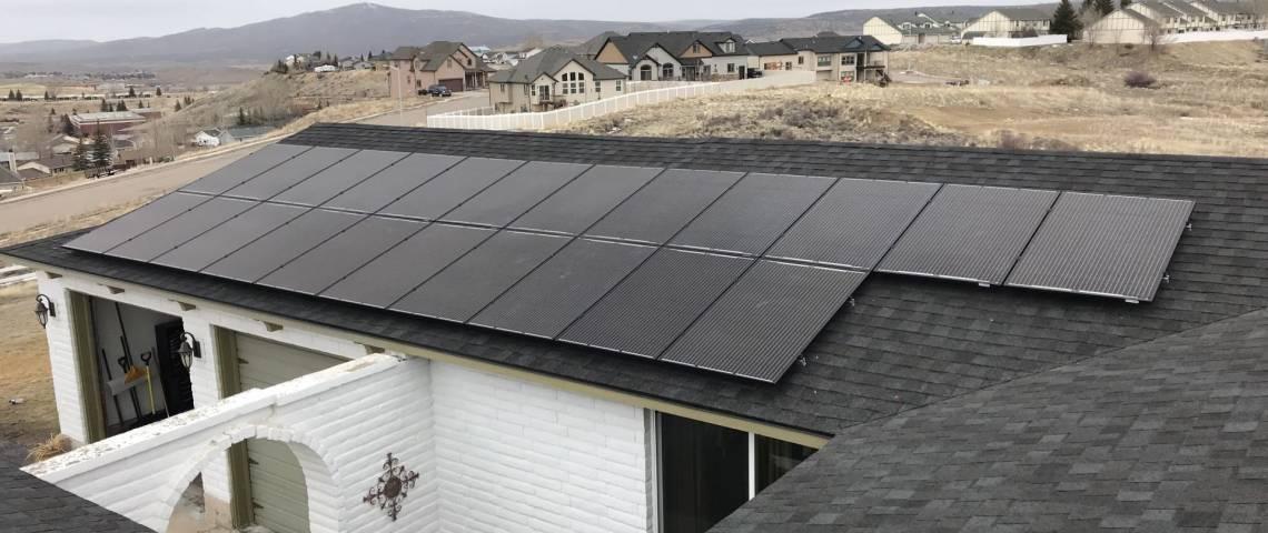 Solar Power System in Evanston WY