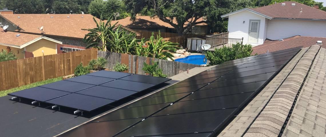 Solar Power System in Portland TX