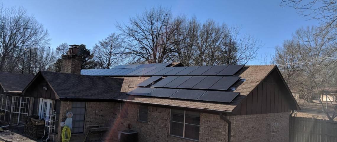 Solar Power System in Tyler TX
