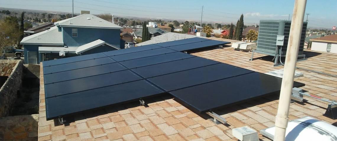 Solar Power System in Walker Lake NV