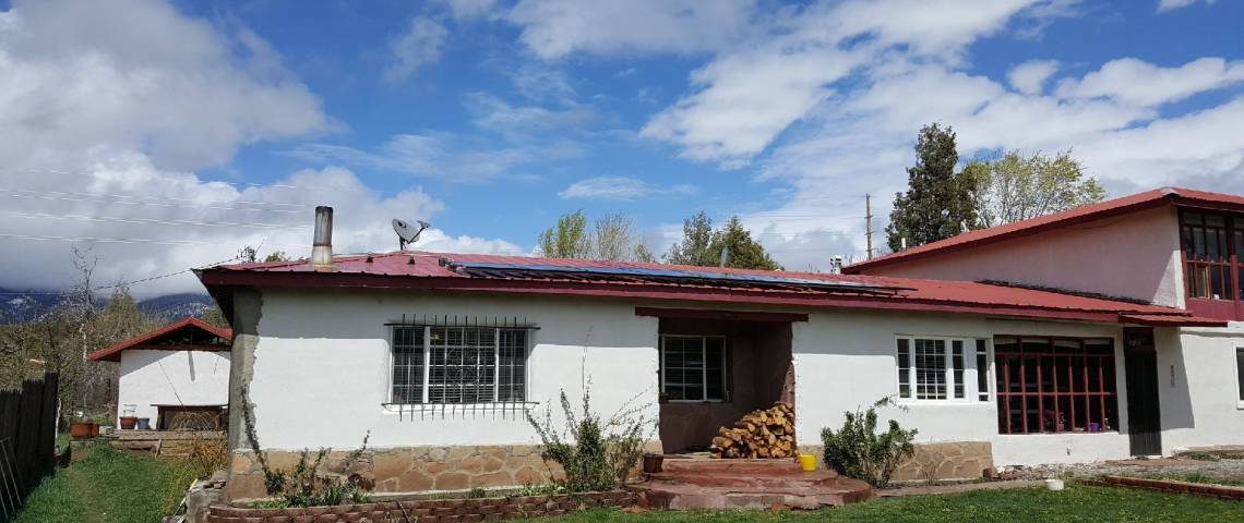 Solar Panel Installation in Penasco, NM - 4
