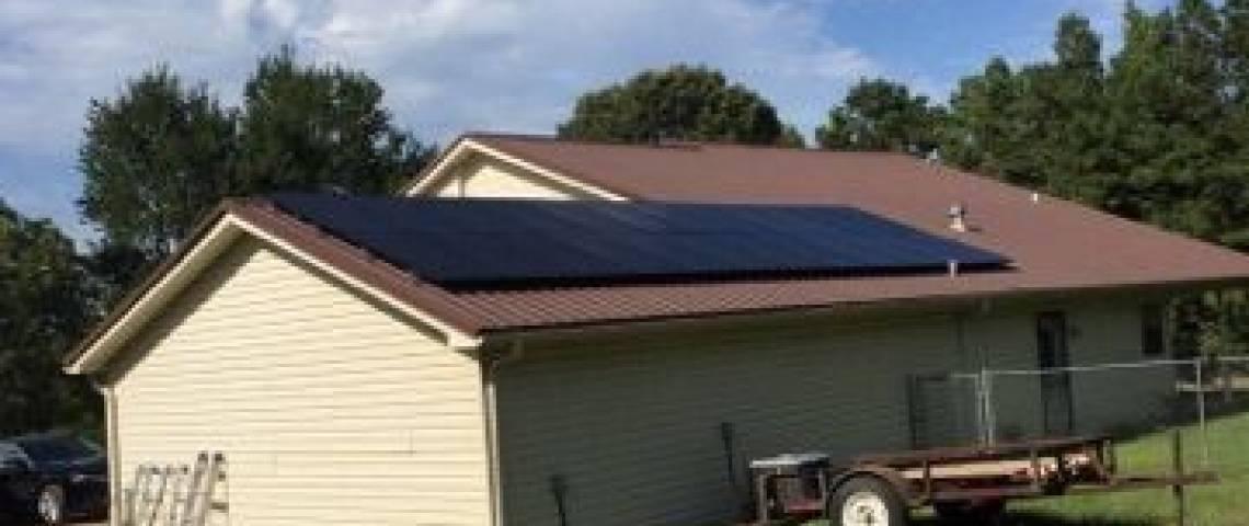 Shingle Roof Mount Solar Panel Installation in Bivins, TX (6.96 kW) - 2