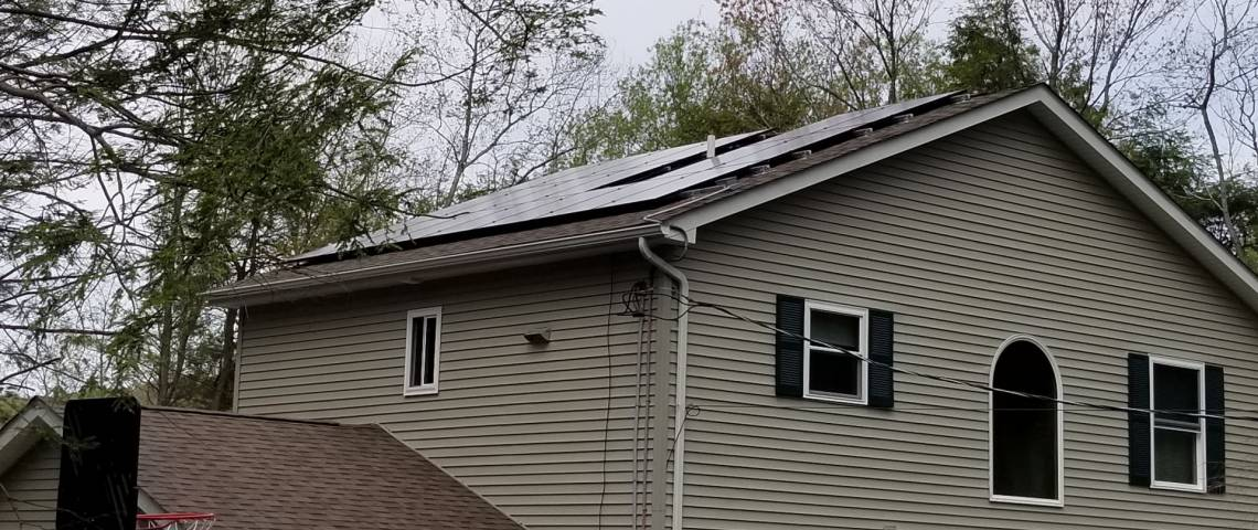 White Haven, PA Solar Panel Installation - 2
