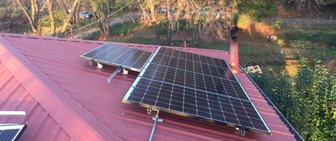 Solar Energy System in Paradise, CA - Rooftop Installation