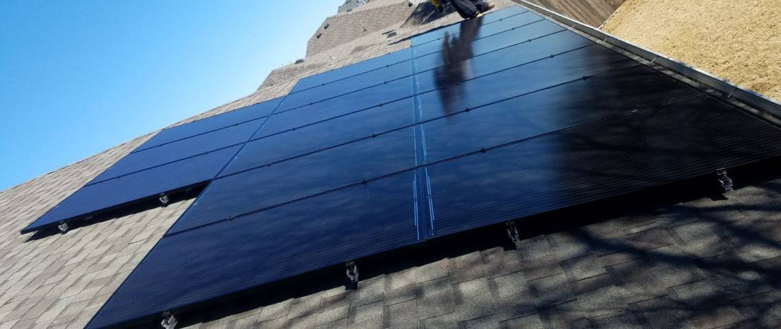 Solar Panel Installation in McKinney, TX - SolarWorld Rooftop System