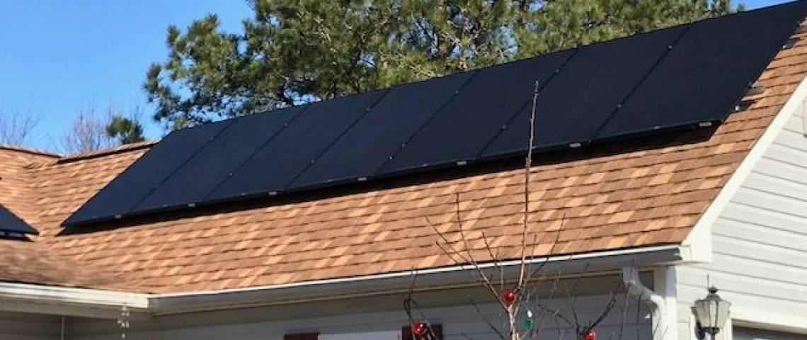 Solar Energy System in New Bern, NC - SolarWorld Panels