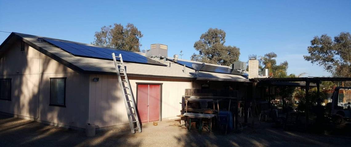 Solar Power System in Imperial, CA - Complete Rooftop Installation